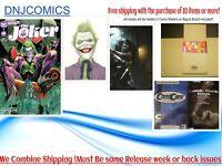 JOKER #1 ABC Set  DC Comics  NM 3/9 Pre-sale 2021