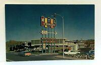 Nogales Arizona El Dorado Motor Hotel Old Cars Postcard