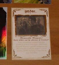 Harry Potter Memorable Moments Gold Promo 3 RARE