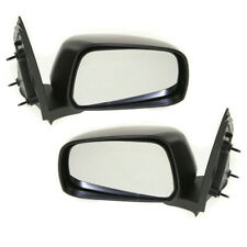 For 05-21 Frontier Pickup Truck Rear View Mirror Manual Textured Black PAIR SET