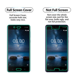 2x FULL Screen Face Curved TPU Screen Protector Cover For Nokia 8