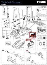 Thule fixation 52695 pour 1 roue sur hayon 917 924 926 velospace velocompact