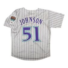 Randy Johnson 1999 Arizona Diamondbacks Gris Road Throwback Jersey para hombre (M-2XL)
