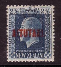 AITUTAKI....  1917 overprinted NZ stamp,  2½d blue used, Sg15a