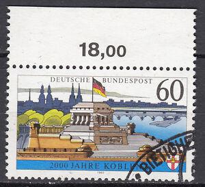 BRD 1992 Mi. Nr. 1583 x weißes Papier Oberrand Gestempelt LUXUS!!! (14882)