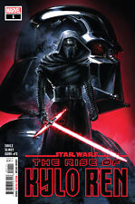 STAR WARS THE RISE OF KYLO REN #1 FIRST PRINTING SIGNED BY WILL SLINEY