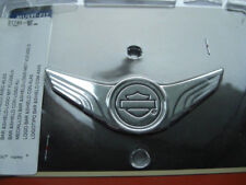 Harley Davidson bar & shield b&s Wings cromo Medallion emblema sissybar 91745-02
