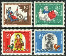 Germany B426-B429,MI 538-541,MNH. Fairy Tale: Frau Holle, by Brothers Grimm,1967