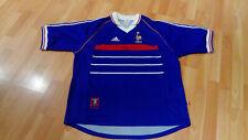 Eric CANTONA France Adidas SIGNED Shirt - Manchester United / Man Utd / MUFC