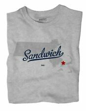Sandwich Massachusetts MA Mass T-Shirt MAP