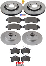 FOR CITROEN DS3 1.4 1.6 HDi THP(09-16) FRONT & REAR BRAKE DISCS & PADS SET *NEW*