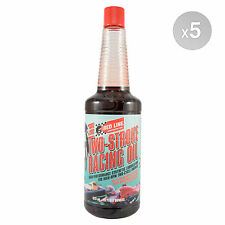 Red Line 2 Stroke Racing Oil Premix or Injection Oil 5 x 473 ml bottle