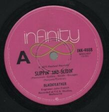 "BLACKFEATHER   Rare 1973 Aust Only 7"" OOP Prog Rock Single ""Slippin' And Slidin"""