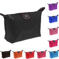 Travel Waterproof Cosmetic Makeup Bag Pencil Case Storage Pouch Purse Handbag