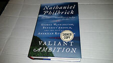 Valiant Ambition by Nathaniel Philbrick (2016, Hardcover) SIGNED 1st/1st