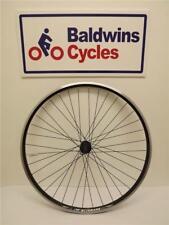 700c / 29er REAR Hybrid Bike Wheel DOUBLE WALL - BLACK - 8-9-10 Speed Cassette