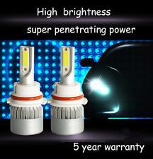 Pair 9007 HB5 LED Headlight bulb High Low Beam 1800W 250000LM Headlamp DRL Light