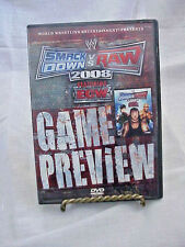 DVD WORLD VRESTLING ENTERTAINMENT  SMACK DOWN VS RAW  2008 GAME PREVIEW