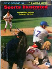 Brooks Robinson Autographed Signed Sports Illustrated Orioles Beckett COA B26272