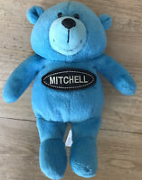 Paper Island Teddy Weberley & Friends  Name Mitchell Blue Plush Beany Toy 7 Inch