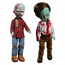 MEZCO Dawn of the Dead Living Dead Dolls FLYBOY & PLAID SHIRT Set of 2 IN STOCK
