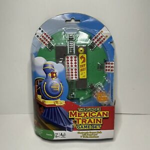 Fundex Mexican Train Game Set for Dominoes - New (package Wear)