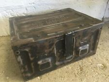 Vintage Ammo Tin Ammunition Case Trunk Storage Quirky Coffee Table Vw Roof Rack