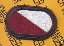 15th S&T Quartermaster Bn Airborne para oval patch