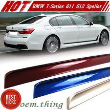 Painted Color BMW 7-Series G11 G12 4DR Trunk Lip Spoiler 16-18 740Le 750d
