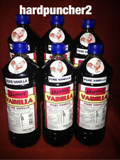 6 Bottles Danncy Mexican Vanilla (Dark) One Liter Bottles