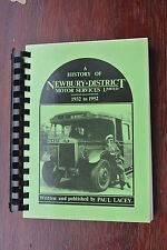 A History of Newbury and District Motor Service Ltd 1932 to 1952 Paul Lacey 1987
