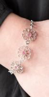 Paparazzi Bracelet - Dancing Daffodils - Pink