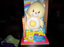 Nib 2005 Care Bears Funshine Bear W/Dvd
