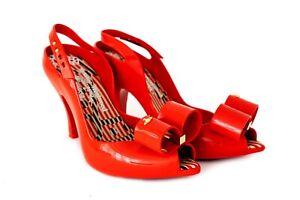 Vivienne Westwood x Melissa Anglomania Lady Dragon II Bow Shoes UK 7 EUR 40