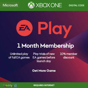 EA Play / EA Access 1 Month Membership Subscription Region Free (Xbox One)