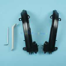 For BMW 1 2 3 4 Series Smoked Dynamic Consequential Wing Mirror Light Set