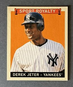 2008 Upper Deck Goudey #285 Derek Jeter Mini Red-Back New York Yankees HOF