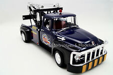 FORD F-100 DEPANNEUSE TOW TRUCK DE 1956  1/18 WELLY JA17DC