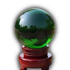 Cristal Bola de mágico curativo Fotografía Colorido Esfera 100mm Verde