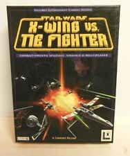 Star Wars X-Wing vs. Tie Fighter PC Cd Rom CTO 1997