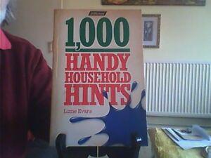 1000 Handy Household Hints Paperback English St Michael