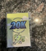 Nike 20k February 2019 Challenge Pin Limited Edition NRC Nike Run Club