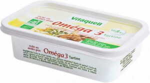 MARGARINA OMEGA-3 BIOLOGICA 250 g - VITAQUELL