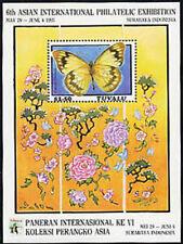 TUVALU, Sc #637, MNH, 1993, S/S, Butterflies, Flora, Flowers, Plants, 8IHI