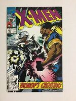 Uncanny X-men #283 1st full Bishop Gamemaster Malcolm & Randall Marvel 1991