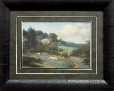 "Larry Dyke /""The Church in the Valley' SN Print w Cert 28/"" x 21/'"