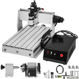 4 Axis CNC Router 3040 Engraver Engraving Machine Milling Drilling Machine