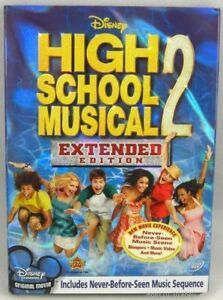 New Disney High School Musical 2 Extended Edition DVD Sealed