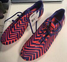adidas P Absolado Instinct Soccer Cleat Orange/Purple Size 12