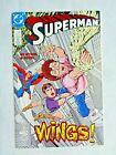 Superman No 15 Wings March 1988  DC Comics Byrne & Kesel First Printing NM (9.4)
